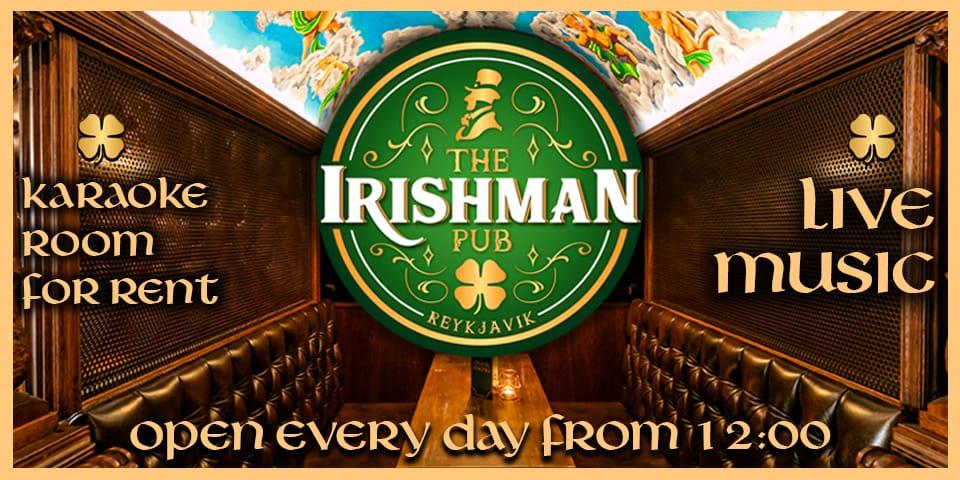 Irishman Pub Reykjavik Iceland