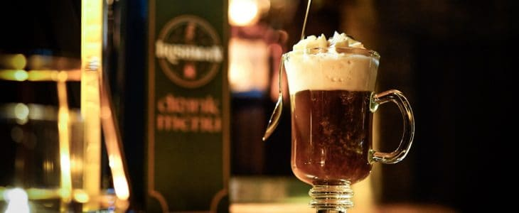 30% off Irish Coffee from 12-19, every day