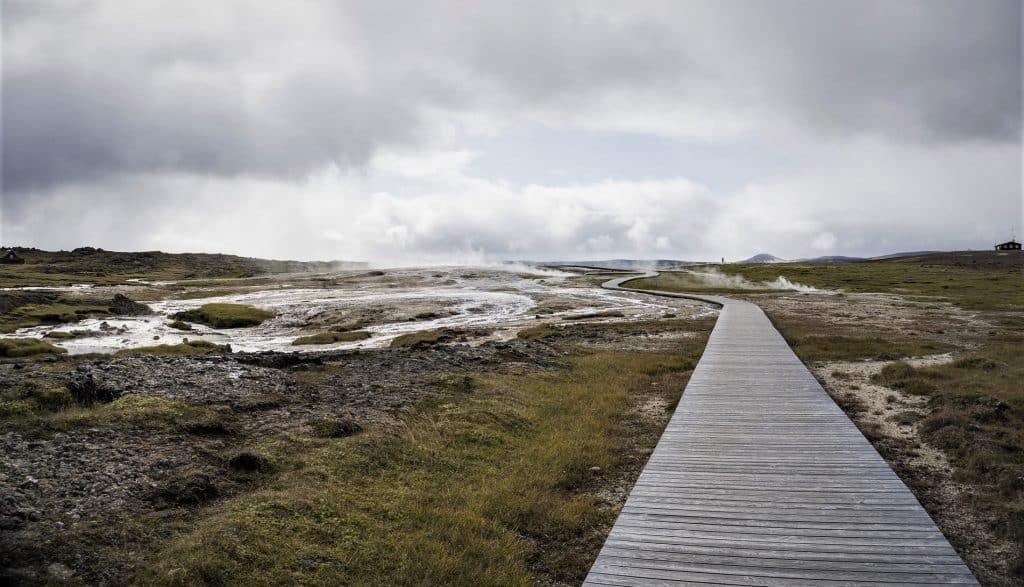 walking path Iceland